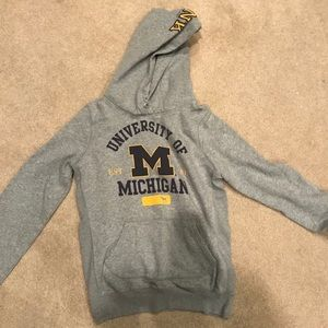 PINK university of michigan sweatshirt
